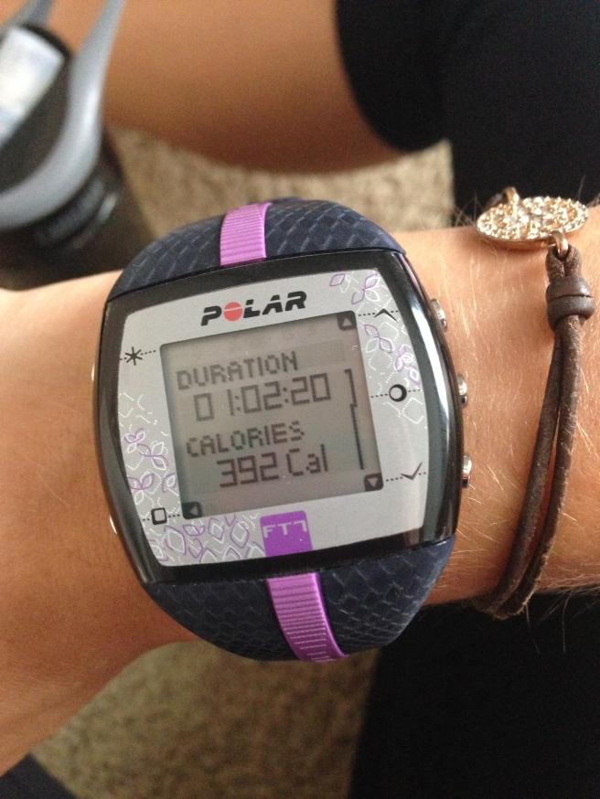 polar watch workout