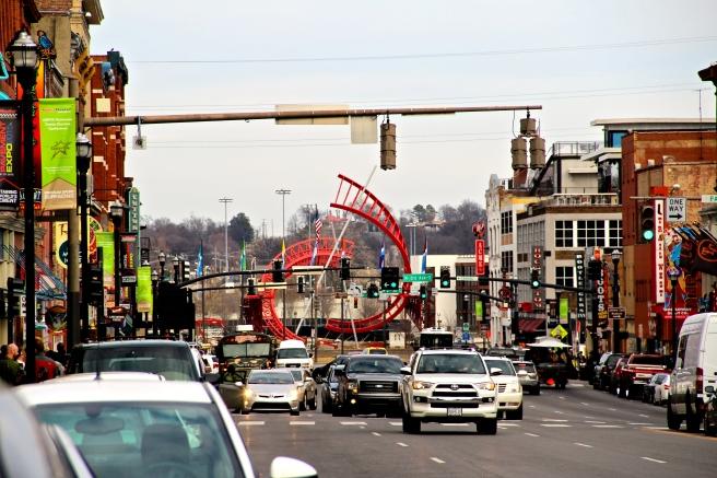 Nashville Tennessee Broadway River