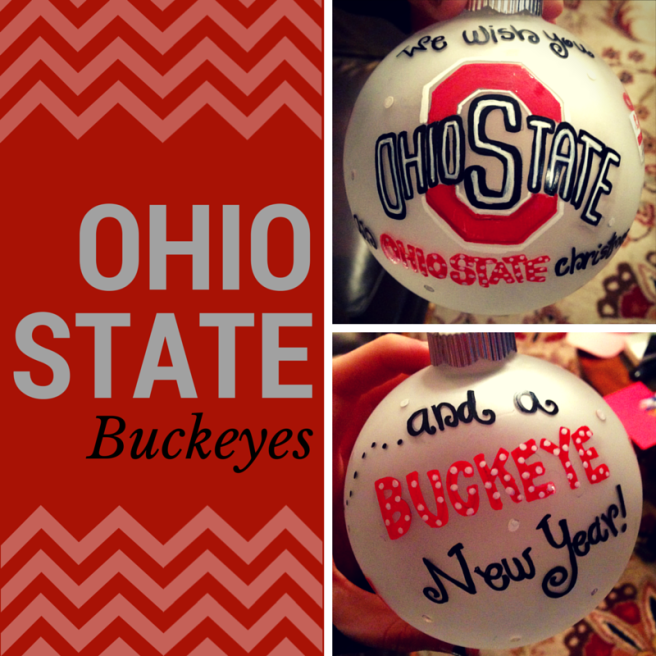 Ohio State Ornament